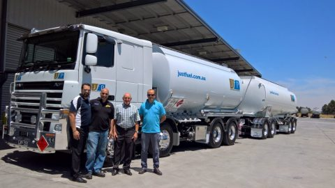 The final new tanker delivery for 2016…